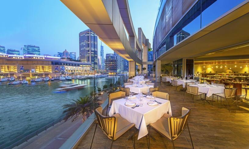Рестораны в дубай марина дубай недвижимость цена