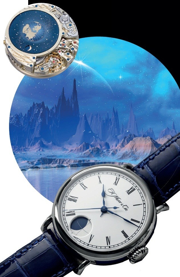 H. Moser & Cie Heritage Perpetual Moon