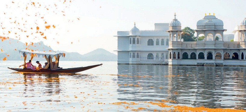 Отель Taj Lake Palace, Раджастан