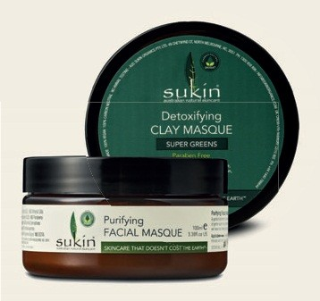 Маска Super Greens Detoxifying Clay Masque