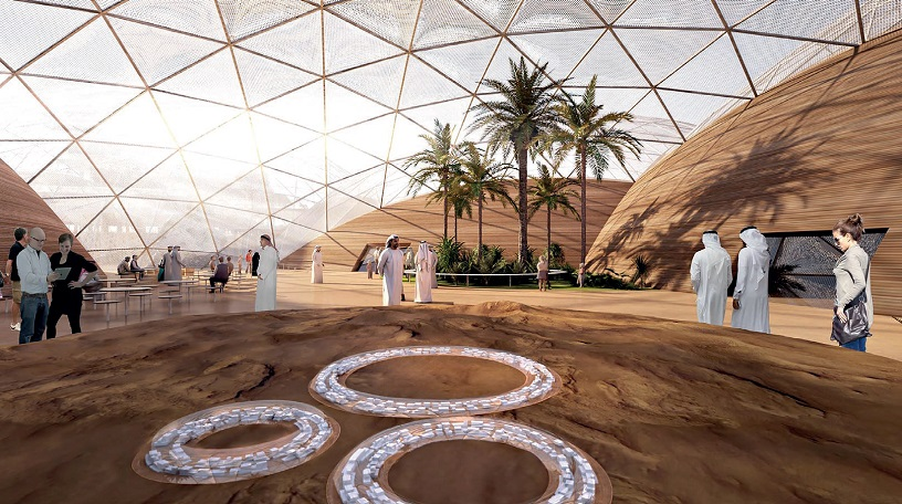 Mars Science City by Bjarke Ingels Group