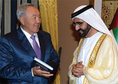 ОАЭ – один из самых важных политических и экономи- ческих партнеров Казахстана