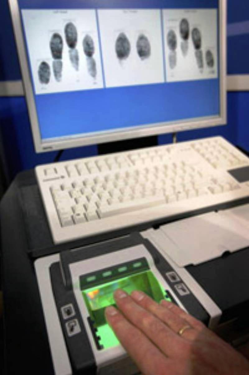 biometric fingerprint scanner thesis An efficient automatic attendance system using most fingerprint-based biometric systems store distortion is due to the pressure applied on the scanner.