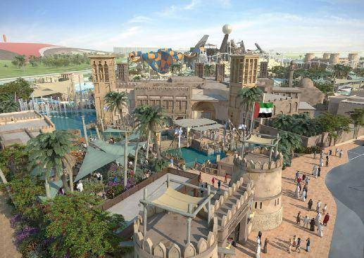 Аквапарк Yas Water World в Абу-Даби откроется в январе