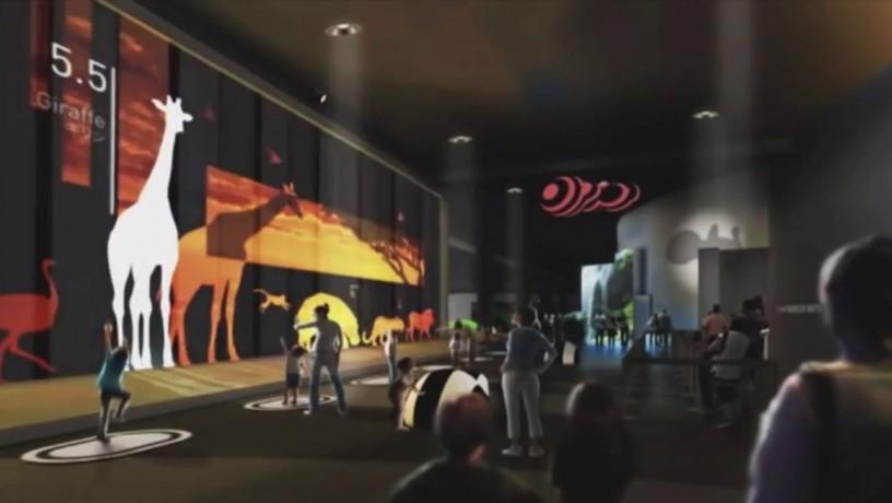 В торговом центре Дубая запустят интерактивный природный парк от SEGA и BBC