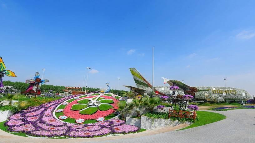Цветочный парк «Чудо-сад» вновь открывается в Дубае 7 ноября 2017 года