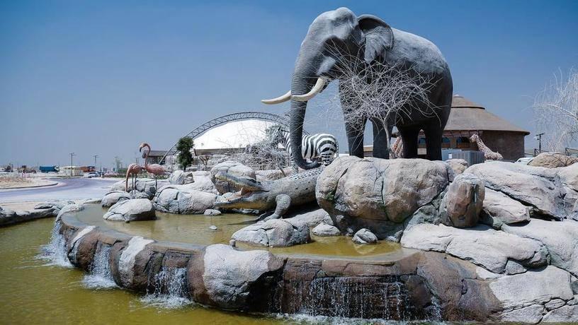 Сегодня в Дубае открылся грандиозный сафари-парк